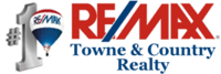 RE/MAX Towne & Country Realty Logo