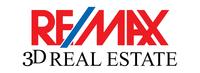 RE/MAX-3D REAL ESTATE Logo