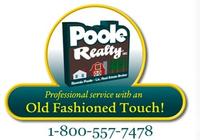 POOLE REALTY INC. Logo