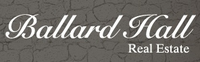 BALLARD HALL REAL ESTATE Logo