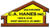 C.A.HANES REALTY- M33 Logo