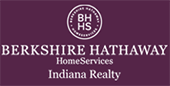 BERKSHIRE HATHAWAY HOMESERVICES, INDIANA REALTY Logo