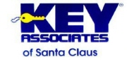 KEY ASSOCIATES OF SANTA CLAUS Logo