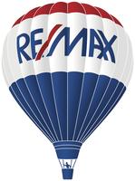 RE/MAX REAL ESTATE MERCHANDISERS Logo