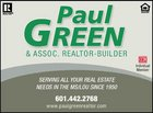 PAUL GREEN REALTORS Logo