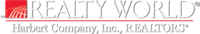 REALTY WORLD-Harbert Company Logo