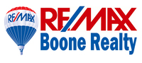 RE/MAX BOONE REALTY Logo