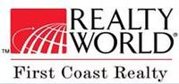 Realty World First Coast Realty Logo