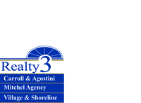 Realty 3 Village & Shoreline Logo
