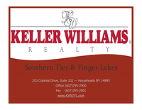Keller Williams Realty Southern Tier &Finger Lakes Logo
