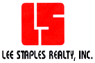 LEE STAPLES REALTY, INC. Logo