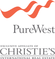 PureWest - Christie's Int'l Real Estate Logo