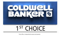 Coldwell Banker 1st Choice Logo