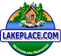 LAKEPLACE.COM - VACATIONLAND PROPERTIES Logo