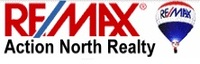 RE/MAX ACTION NORTH Logo
