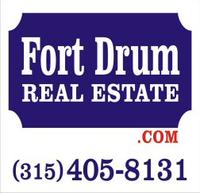 Fort Drum Real Estate. Com Logo