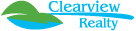CLEARVIEW REALTY Logo