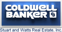 Coldwell Banker Stuart & Watts Real Estate Logo