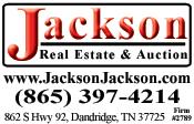 Jackson Real Estate & Auction Logo