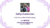 Sally Kalaveras, Real Estate Broker Logo