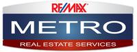 RE/MAX METRO Logo