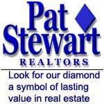 PAT STEWART, REALTORS Logo