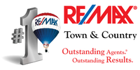 RE/MAX Town & Country Logo