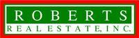 ROBERTS REAL ESTATE INC Logo