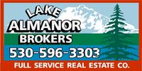 LAKE ALMANOR BROKERS Logo