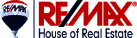 RE/MAX House of Real Estate Logo