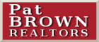 PAT BROWN, REALTOR Logo
