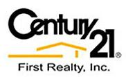 CENTURY 21 FIRST REALTY Logo