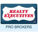 Realty Executives Pro Brokers Logo