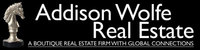 Addison Wolfe Real Estate Logo