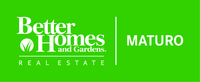 Better Homes and Gardens Real Estate Maturo Logo