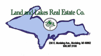 LAND AND LAKES REAL ESTATE CO. Logo