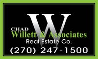 Chad Willett & Associates Real Estate Co. Logo