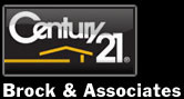CENTURY 21 Brock & Associates Logo